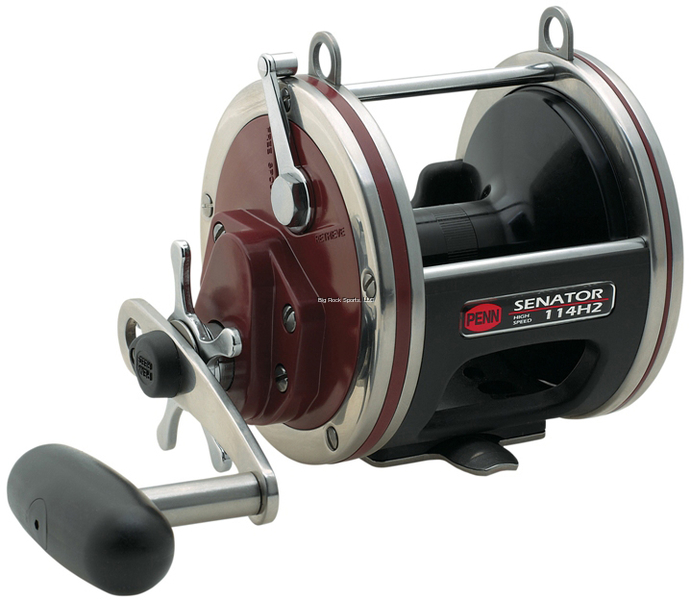 NEW  Penn Fishing Senator Special Reel, 114H2LW 6 0 Wide Spool 1187312