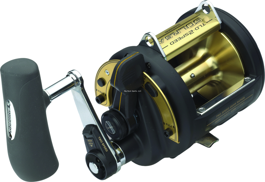 NEW  Shimano TLD 50 II LRS A  2 Speed Trolling Multiplier Offshore Fi TLD50IILRSA  choices with low price